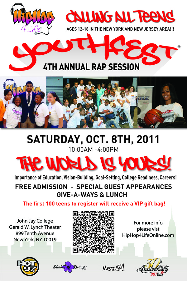 youthfest 2011 Front flyer